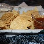 Tortilla Chips with 2 Condiments