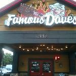 Main Entry to Famous Dave's in Ft. Myers, FL