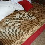 Stained mattress