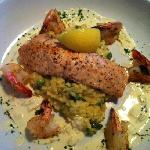 Salmon & Shrimp Milanese