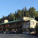 Hotel and Ski Lift