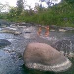 unda river - here the local people village ussually use for take a bath and swimming for childre