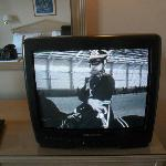 Ancient TV, picture so bad -- worse than an old B/W!!