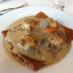 scallop buckwheat crepe