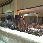 Hotel main lobby