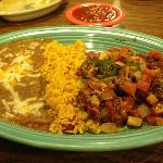 """Frank's Special"", a signature dish at Pancho Villa's Mexican Restaurante in Dewar, OK"