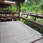Balcony at Thai Villa at Green View Resort and Golf Club