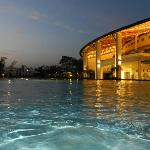 Sports Complex view from Swimming Pool