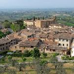 Palazzo Buonaccorsi visto dalla Rocca
