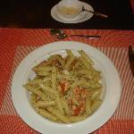 Con Gamberetti e Pepperoni Pasta