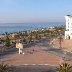 Blick auf Promenade