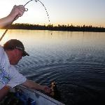 Walleye Fishing in the Evening