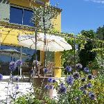 terrasse 60 m² + jardin
