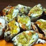 baked egg crabs