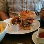 lovely burgers at diner 7