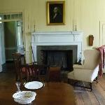 Main room of Blount mansion