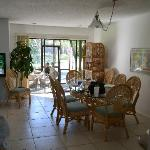 dining area/porch