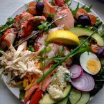 House speciality; Lobster salad