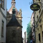 Hotellet mitt i gamla stan