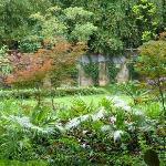 un petit bout du jardin de l'hôtel