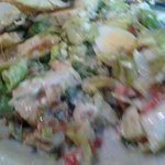 Cobb Salad with Blu Cheese dressing