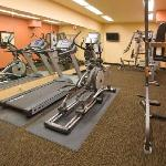 Fitness Center with commercial equipment