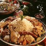 Tunisian Couscous: The most celebrated Maghreb culinary specialty: lamb, chicken, Ali Baba or ro