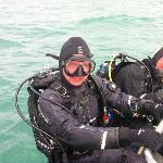 Diving in April