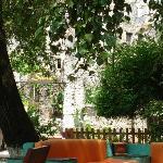 Garden at Sarnic Boutique Restaurant