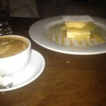 ice cream sandwich and genovese coffee