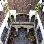 le balcon de la suite royale