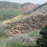 Atlasgebergte Berberdorp van leem