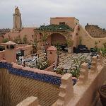 Luxe op het terras van Esprit du Maroc
