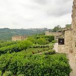 Zicht op Perugia