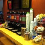 beverage bar (self serve) always available
