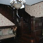 the foyer staircase