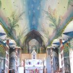 Inside the Painted Church