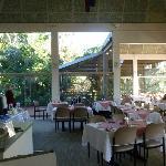 Beautiful dining room setting