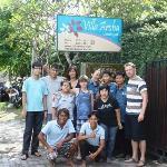 Villa Aroha Staff met de hele familie