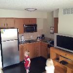 1st floor king Suite- kitchenette area