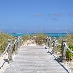Mere steps away from Grace Bay Beach
