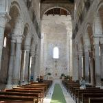 Inside the upper level of Cathedral