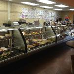 Weinberg's Deli - A freezer case filled with tasty delights!