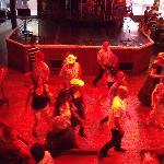 Line dancing entertainment