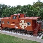 The Caboose Room !!!