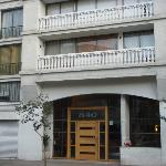 Entrada do prédio