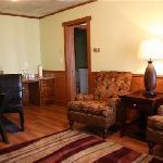 Suite 201 sitting area
