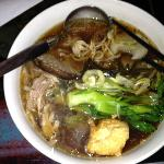Mmm vegie ramen with pork