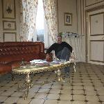 Our host, René