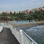 Ruhigerer Strand
